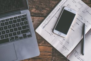 A laptop, phone, and business plan for nonprofit grants.