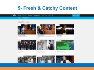 BryteBridge Nonprofit Solutions website tips fresh and catchy content