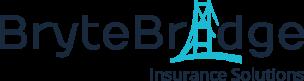 BryteBridge Insurance Logo_Navy Text Transparent