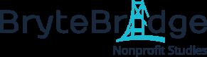BryteBridge Nonprofit Studies Logo_Navy Text Transparent